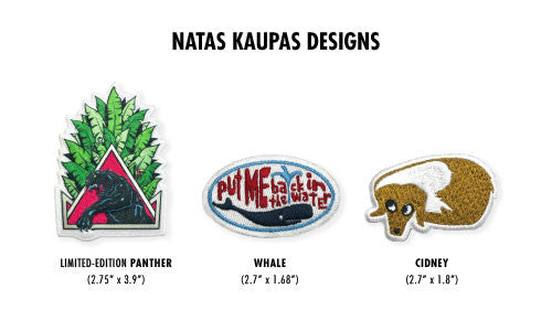 Natas Kaupas Designs Patches