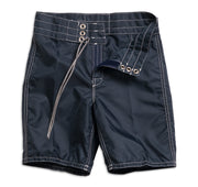303 Kid's Board Shorts - Navy Flat Lay Front Open View