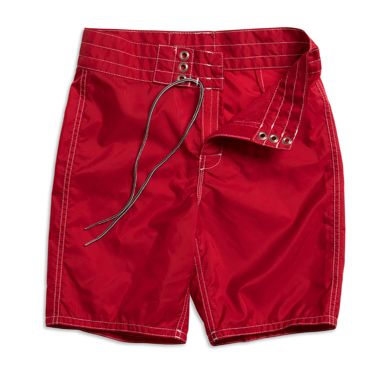 303 Kid's Board Shorts - Red