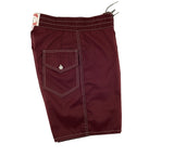 303 Board Shorts - Burgundy