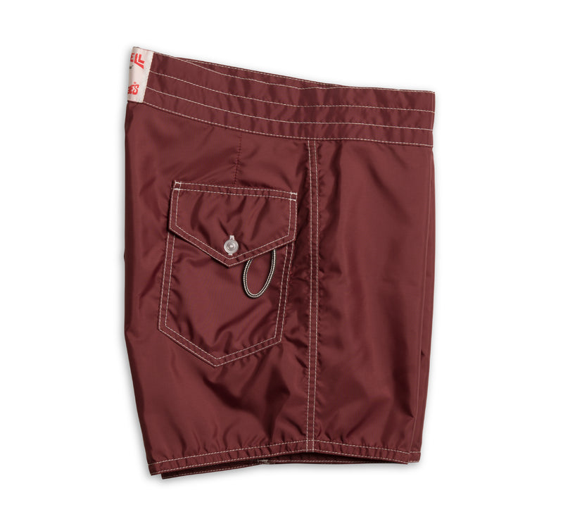 310 Board Shorts - Burgundy