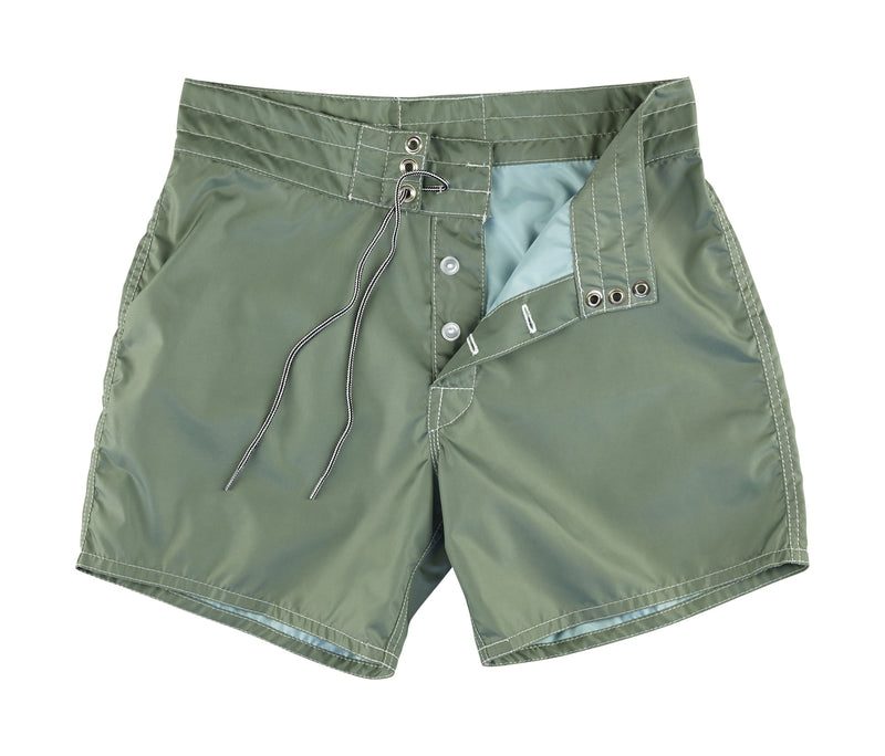 310 Olive Board Shorts - Lining