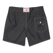 310BoardShorts_MENS_BOARDSHORTS-CLASSIC_BLACK_MA3310-002 Flat Lay Back View