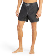 310BoardShorts_MENS_BOARDSHORTS-CLASSIC_BLACK_MA3310-002 On Model Front View