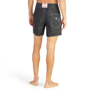 310BoardShorts_MENS_BOARDSHORTS-CLASSIC_BLACK_MA3310-002 On Model Back View