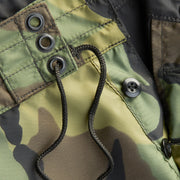 310BoardShorts_MENS_BOARDSHORTS-CLASSIC_CAMO_MA3310-036 Close Up Fly View