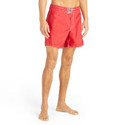 310BoardShorts_MENS_BOARDSHORTS-CLASSIC_RED_MA3310  On model front view
