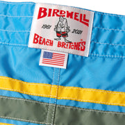 310LeroyBoardShort60thAnniversary_Mens_Boardshorts_SkyOlvYlw_up_close_logo