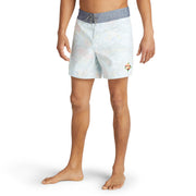 310Limited-EditionParadise_MENS_BOARDSHORTS_WHITE-CHAMBRAY_MA3310 On Model  Front View