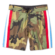 311 Limited-Edition Guerilla Board Shorts - Woodland Camo