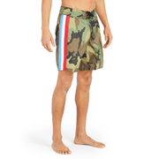 311Limited-EditionGuerilla_MENS_BOARDSHORTS_Camo_MA3311 On Model Front View