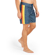 311Limited-EditionGaviotas_MENS_BOARDSHORTS_Navy_MA3311 On Model Front View