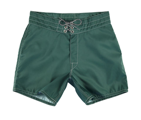 patches-front 310 Dark Green Board Shorts - Front