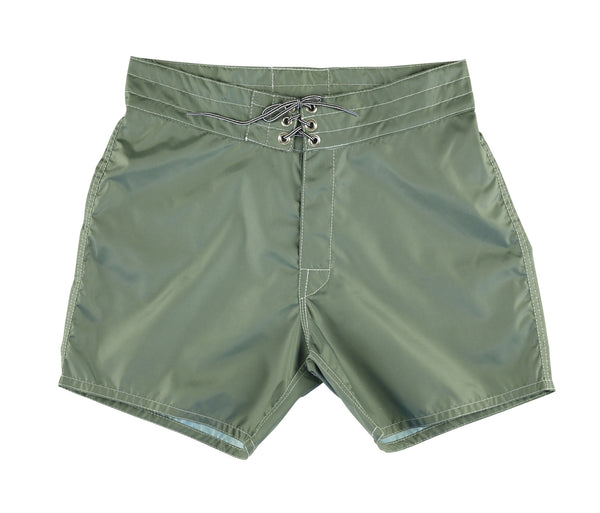 310 Olive Board Shorts - Front