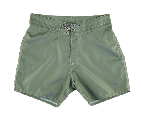 patches-front 310 Olive Board Shorts - Front