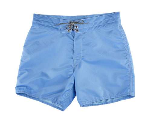 patches-front 310 Sky Blue Board Shorts - Front