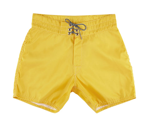 patches-front 310 Yellow Board Shorts - Front