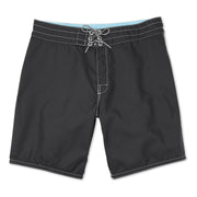311BoardShorts_MENS_BOARDSHORTS-CLASSIC_BLACK_MA3311 Flat Lay Front View