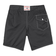 311BoardShorts_MENS_BOARDSHORTS-CLASSIC_BLACK_MA3311 Flat Lay Back View