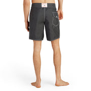 311BoardShorts_MENS_BOARDSHORTS-CLASSIC_BLACK_MA3311 On model back view