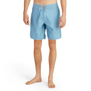 311BoardShorts_MENS_BOARDSHORTS-CLASSIC_FEDERALBLUE_MA3311 on model fornt view