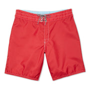 311BoardShorts_MENS_BOARDSHORTS-CLASSIC_RED_MA3311 flat lay front view