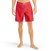 311BoardShorts_MENS_BOARDSHORTS-CLASSIC_RED_MA3311 on model front view