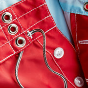 311BoardShorts_MENS_BOARDSHORTS-CLASSIC_RED_MA3311 close up fly view