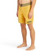 311LimitedEditionAlohaBoardShorts-Mens-gold-MA3311 On Model Front View