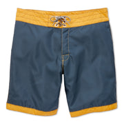 311Limited-EditionGoldTips_MENS_BOARDSHORTS_NavyGold_MA3311 Flat Lay Front View