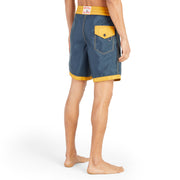 311Limited-EditionGoldTips_MENS_BOARDSHORTS_NavyGold_MA3311 On Model Back View