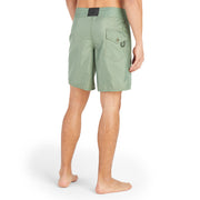 311Limited-EditionSequoia_MENS_BOARDSHORTS_Olive_MA3311  On Model Back View