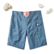 311 Stone-Washed Board Shorts - Federal Blue