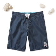 311 Stone-Washed Board Shorts - Navy