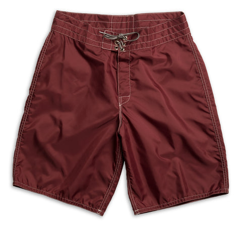 312 Board Shorts - Burgundy