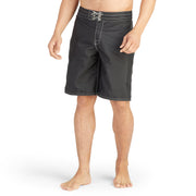 312BoardShorts_MENS_BOARDSHORTS-CLASSIC_BLACK_MA3312 on model front view