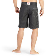 312BoardShorts_MENS_BOARDSHORTS-CLASSIC_BLACK_MA3312 on model back view