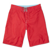 312BoardShorts_MENS_BOARDSHORTS-CLASSIC_RED_MA3312 flat lay front view