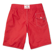 312BoardShorts_MENS_BOARDSHORTS-CLASSIC_RED_MA3312 flat lay back view