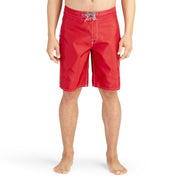 312BoardShorts_MENS_BOARDSHORTS-CLASSIC_RED_MA3312 on model front view
