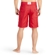312BoardShorts_MENS_BOARDSHORTS-CLASSIC_RED_MA3312 on model back view