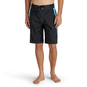 312Limited-EditionSkyline_MENS_BOARDSHORTS_BLACK_MA3312 On Model Front View