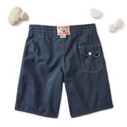 312 Stone-Washed Board Shorts - Navy