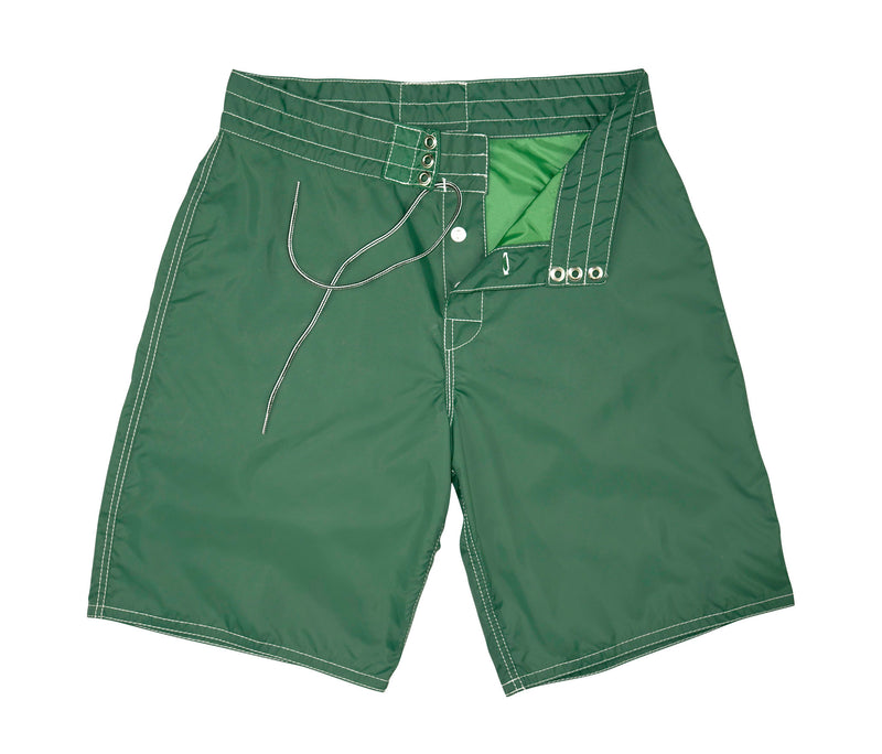 312 Dark Green Board Shorts - Lining