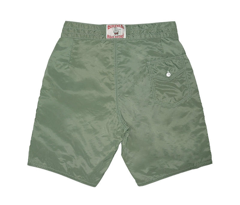 312 Olive Board Shorts - Back