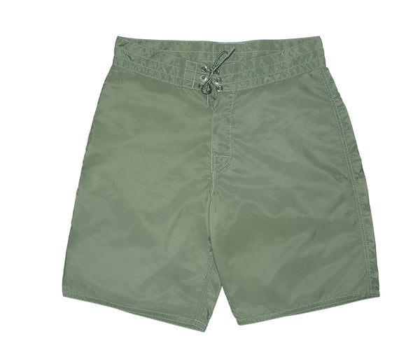 312 Olive Board Shorts - Front