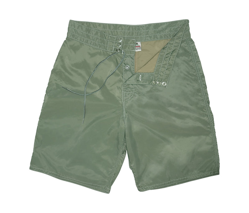 312 Olive Board Shorts - Lining