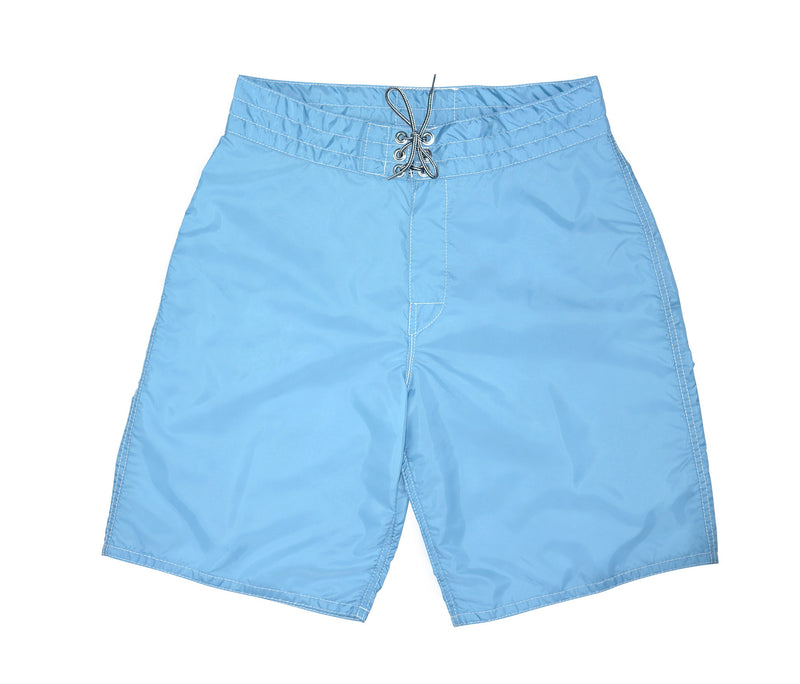 patches-front 312 Sky Blue Board Shorts - Front