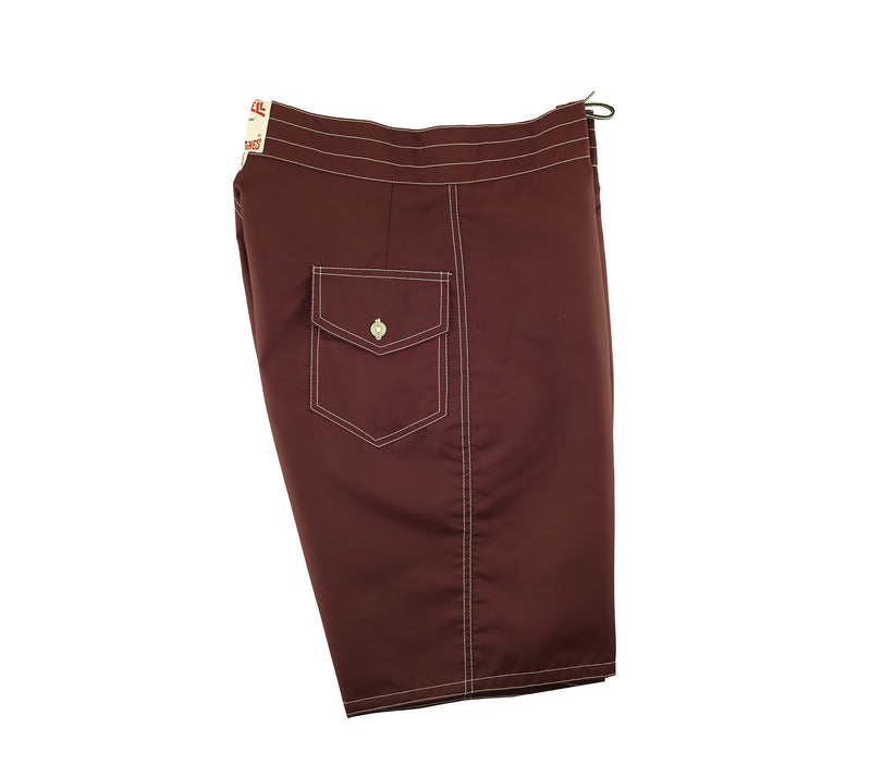 323 Board Shorts - Burgundy