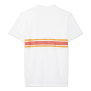 3StripeCompTShirt_MENS_T-SHIRT_WHITE_PAPRIKAGOLD_MA1018 Flat Lay Back View